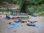 sleeping under the stars in a 'dream circle'