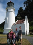 the lighthouse at point hectec Oregon Coast