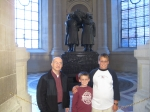 with paul azzara at the tomb of Marshall Foche