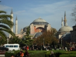 the Aya Sophia