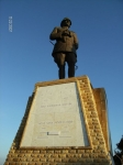Ataturk statue Gallipolli Turkey